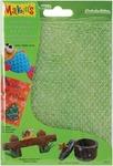 "Makin's Clay Texture Sheets 7""X5-1/2"" 4/Pkg - Set D (Scale/Snowflake/Woodgrain/S"