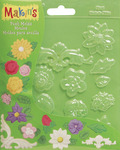 Floral - Makin's Clay Push Molds