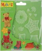 Christmas Decor - Makin's Clay Push Molds