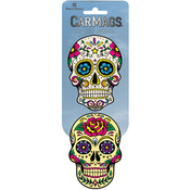 Sugar Skulls - Car Magnet