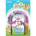 Rainbow Pony Frames - Perler Fun Fusion Fuse Bead Activity Kit