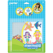 Mermaid - Perler Fun Fusion Fuse Bead Activity Kit