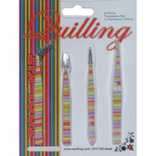 Rainbow - Tweezer Set 4pc
