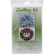 Quilling Kit - Christmas Wreaths