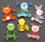 Animal Buddies - Quilling Kit