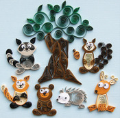 Forest Buddies - Quilling Kit