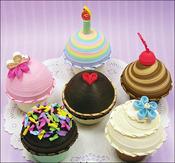 Cupcake Treasure Boxes - Quilling Kit