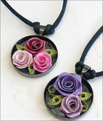 Romantic Roses Necklace - Quilling Kit