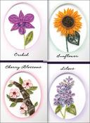 Elegant Floral Cards - Quilling Kit