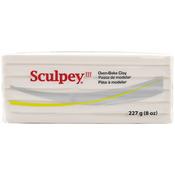 Translucent - Sculpey III Polymer Clay 8oz