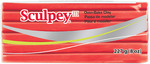 Red Hot Red - Sculpey III Polymer Clay 8oz