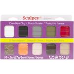 Naturals - Sculpey III Polymer Clay Multipack 2oz 10/Pkg