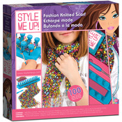 Style Me Up Fashion Knitted Scarf Kit