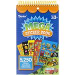 Boys Mega Sticker Book - 5,250 Stickers/Pkg