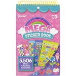 Girls Mega Sticker Book  5,506 Stickers/Pkg