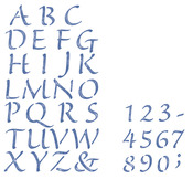Alphabet/Numbers - Simply Stencils Value Pack