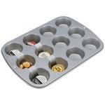 "12 Cavity 3""X1"" - Recipe Right Standard Muffin Pan"