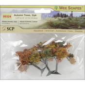 "Autumn Tree 2.25"" To 2.5"" 3/Pkg"