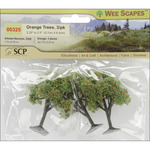 "Orange Trees 2.25"" To 2.5"" 3/Pkg"