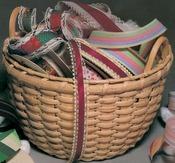"""Grans Cotton Basket 9.5""""X7"""" - Blue Ridge Basket Kits"""