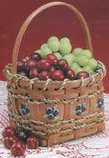 "Berry Basket 4""X4""X4.5"" - Burgundy Hill Basket Kits"