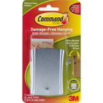 Command Wire - Backed Sticky Nail And Stabilizer Strips-1 Hanger, 4 Large Strips