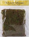 Natural - Spanish Sheet Moss 3oz/Pkg