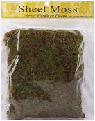 Natural - Spanish Sheet Moss 3oz/Pkg