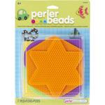 Assorted Colors - Perler Fun Fusion Pegboards 5/Pkg