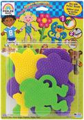 Boy/Girl/Bear/Monkey/Butterfly/2 Flowers - Perler Fun Fusion Pegboards 7/Pkg