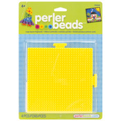 Large Square Green - Perler Fun Fusion Pegboards 2/Pkg