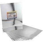 "Silver - Mirror Board 8.5""X11"" 10/Pkg"