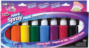 Tulip Fabric Spray Paint Party Pack 1.9 Ounces 9/Pkg