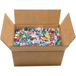 Mixed Plastic Beads 10lb/Pkg