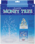 "Clear Plastic - Money Tree 12"""
