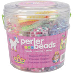 Magic Princess Perler Fun Fusion Fuse Bead Bucket