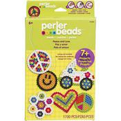 Peace & Love - Perler Fun Fusion Fuse Bead Activity Kit