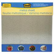 "Silver - Galvanized Steel Sheet 12""X12"""