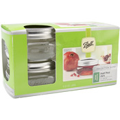 Half Pint - Ball Wide Mouth Canning Jar 4/Pkg