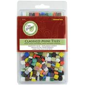 """Assorted Colors - Classico Mini Tile Mix 5/16"""" 16oz/Pkg"""