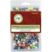 "Assorted Colors - Classico Mini Iridized Tile Mix 5/16"" 8oz/Pkg"