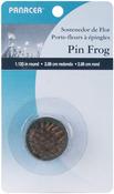 "Green - Pin Frog 1.125"" Round 1/Pkg"