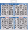 "500 Games - Bingo Game Sheets 8""X8"" 125/Pkg"