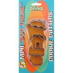 Mini Dog Theme - Cookie Cutters 5/Pkg