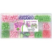 Mint Pastel - Bead Stylin' Bead Box Kit 4.4oz/Pkg