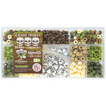 Camo Skulls - Bead Box Kit 6.25oz/Pkg