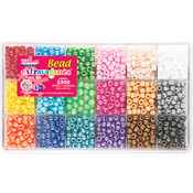 Pearl - Bead Extravaganza Bead Box Kit 19.75oz/Pkg