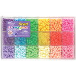Pastel and Jelly - Bead Extravaganza Bead Box Kit 19.75oz/Pkg