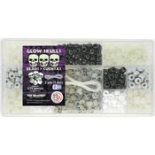 Glow Skulls - Bead Box Kit 6.25oz/Pkg