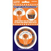 Basketball 32/Pkg - Standard Baking Cups